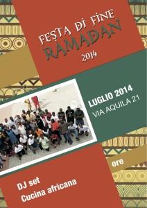 volantino festa ramadan